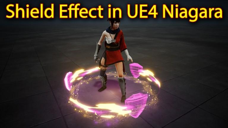 Shield Effect | Unreal Engine Niagara Tutorials | UE4 Niagara Shield Effect