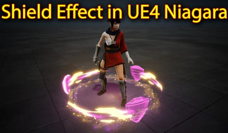 Shield Effect   Unreal Engine Niagara Tutorials   UE4 Niagara Shield Effect