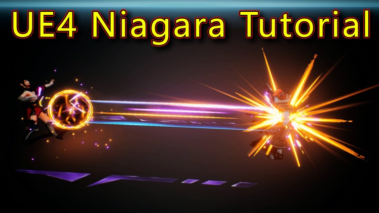 Attack Effect | Unreal Engine Niagara Tutorials | UE4 Niagara Attack Effect