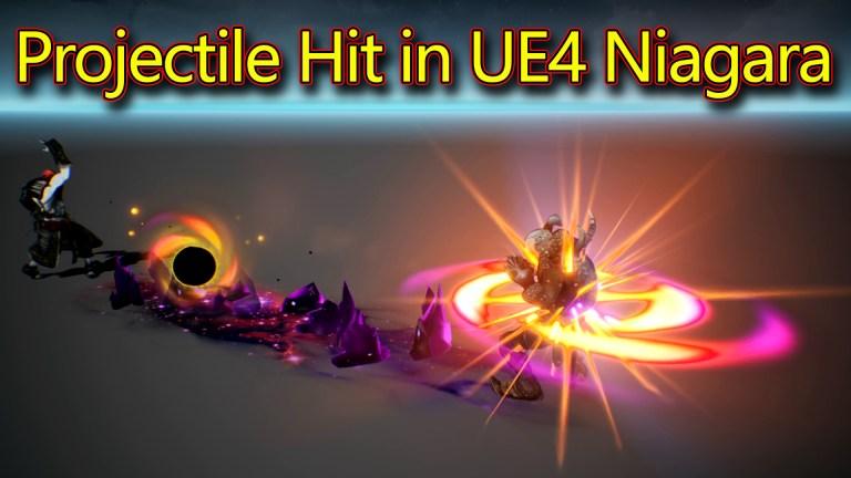 Projectile Hit Effect   Unreal Engine Niagara Tutorials   UE4 Niagara Projectile