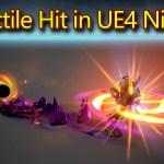 Projectile Hit Effect | Unreal Engine Niagara Tutorials | UE4 Niagara Projectile