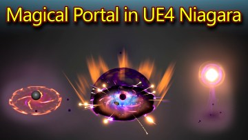Magical Portal | Unreal Engine Niagara Tutorials | UE4 Niagara Portal