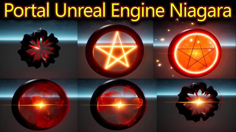 Portal Effect | Unreal Engine Niagara Tutorials | UE4 Niagara Portal