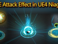 AOE Attack Effect | Unreal Engine Niagara Tutorials | UE4 Niagara AOE