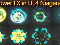 Flower Effect | Unreal Engine Niagara Tutorials | UE4 Niagara Flower Effect
