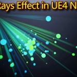 Ball Rays Effect | Unreal Engine Niagara Tutorials | UE4 Niagara Rays Effect