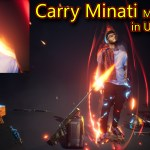 CarryMinati Motion Poster in UE4 Niagara