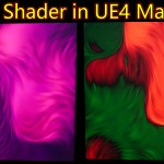 Blur HLSL Shader in UE4 Material Custom Node