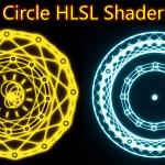 Magical Circle HLSL Shader in UE4 Material Custom Node