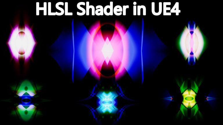 HLSL Shader in UE4 Material Custom Node
