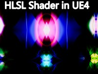 HLSL Shader in UE4 Material Custom Node