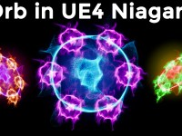Orb in UE4 Niagara Tutorial