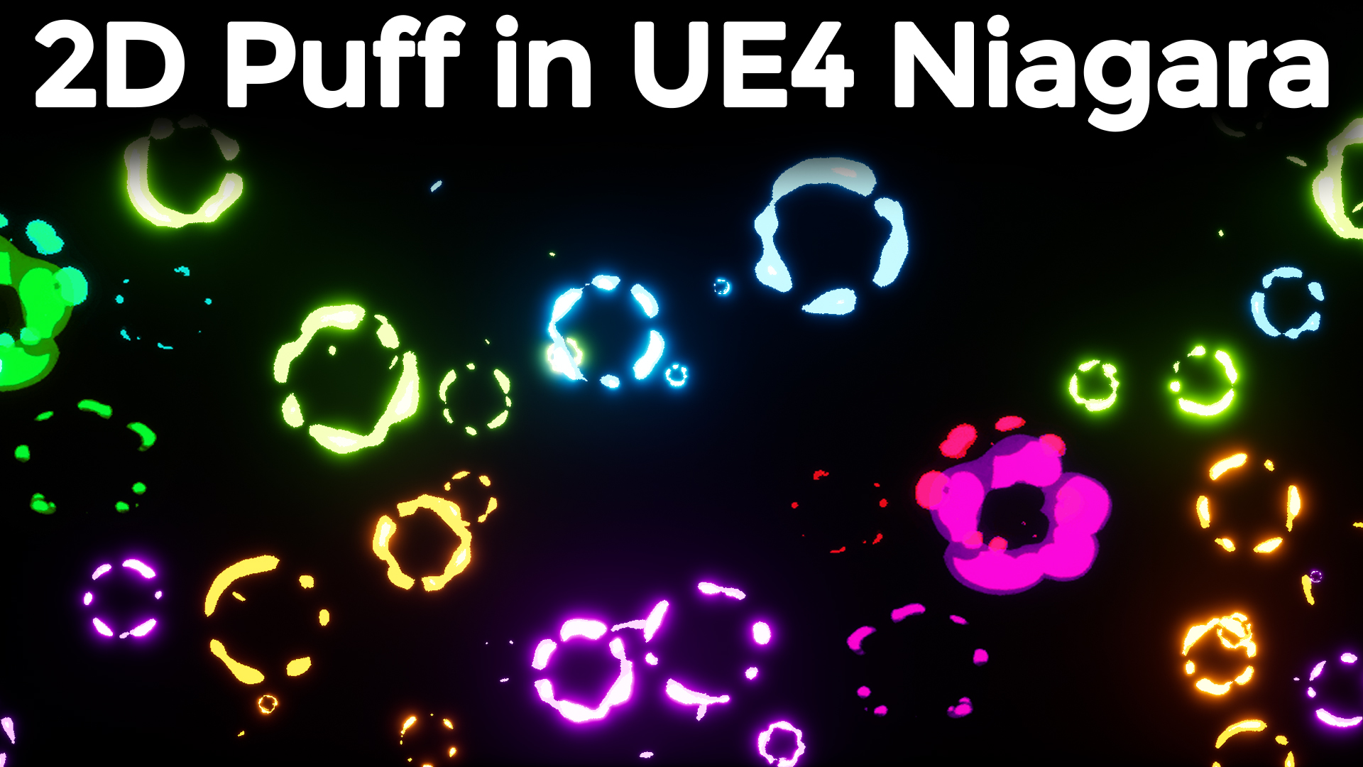 2D Puff Effect in UE4 Niagara Tutorial