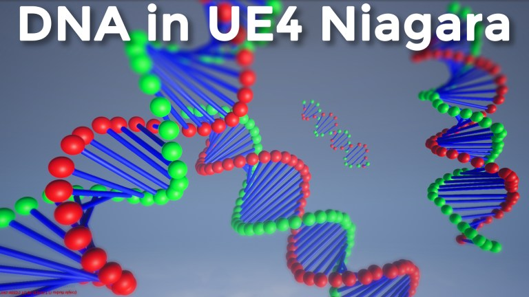 DNA in UE4 Niagara