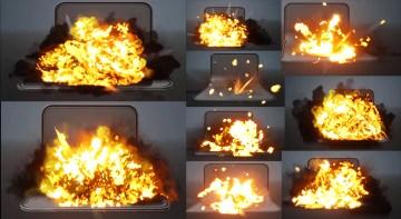 Explosions in UE4 Niagara in Marketplace