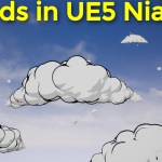 Toon Clouds in UE5 Niagara | Download Project Files