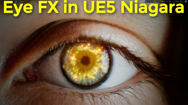 Eye FX in UE5 Niagara   Download Project Files
