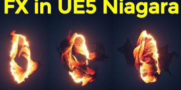 Make this FX in UE5 Niagara and Download from Patreon