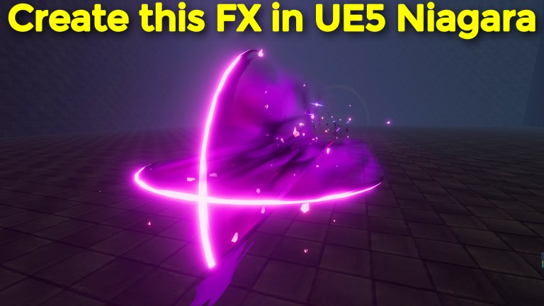 Create this FX in UE5 Niagara Tutorial | Download Project Files