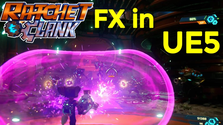 Ratchet & Clank: Rift Apart VFX in UE5   Download Project Files