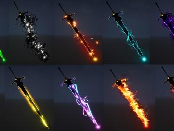 Sword FX in UE4 Niagara Marketplace