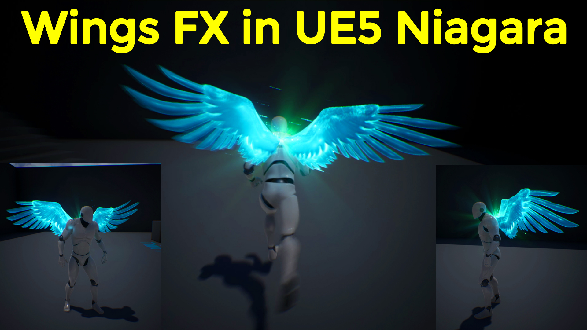 Wings FX in UE5 Niagara Tutorial   Download Project Files