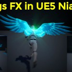Wings FX in UE5 Niagara Tutorial | Download Project Files