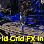 World Grid Effect with Post Process Material in UE5 | Download Project Files