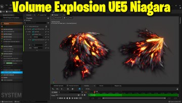 Volume Explosion in UE5 Niagara   Download Files