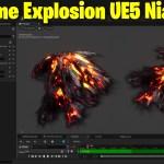Volume Explosion in UE5 Niagara | Download Files