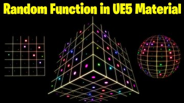 Random Function in UE5 Material Explained   Download Files