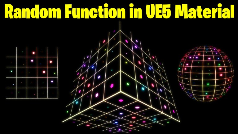 Random Function in UE5 Material Explained | Download Files