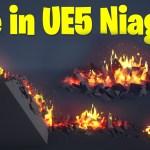 Fire in UE5 Niagara Tutorial | Download Files
