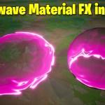 Shockwave Material FX in Unreal Engine 4.27 | Download Files
