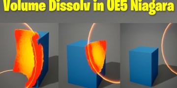 Volume Dissolve in UE5 Niagara Tutorial | Download Files