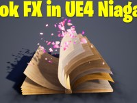 Book FX in UE4.27 Niagara Tutorial | Download Files