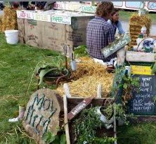 Moy Hill Community Gardeners in Global Green