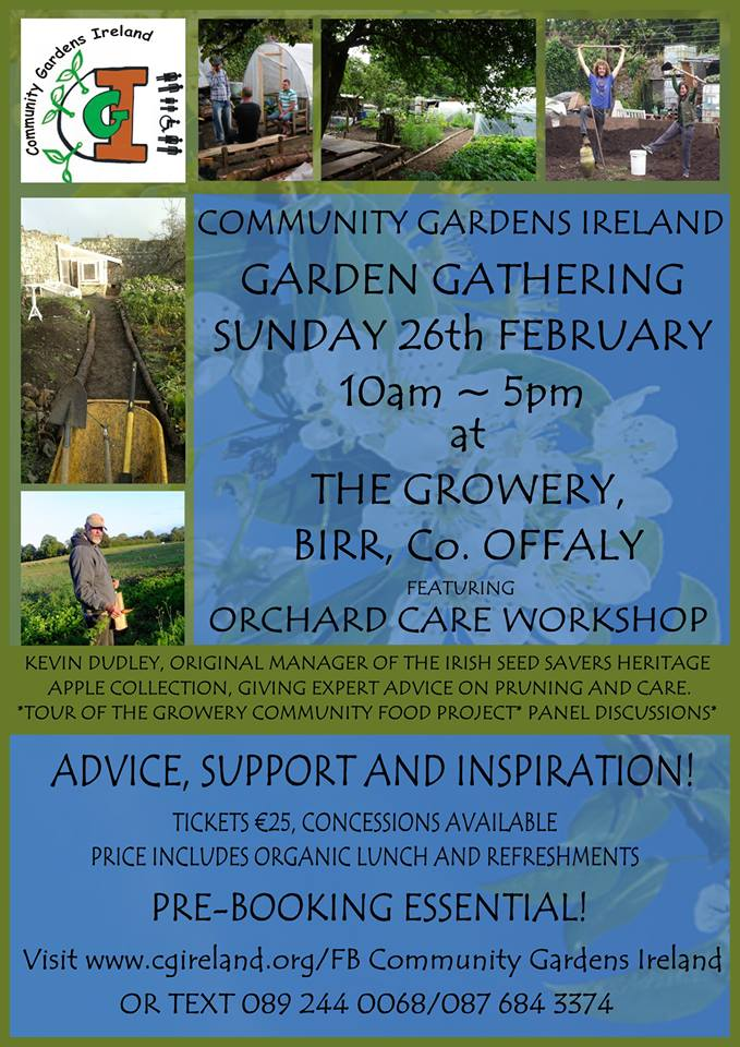 Community Garden Gathering & Orchard Care Workshop – Bookings Open