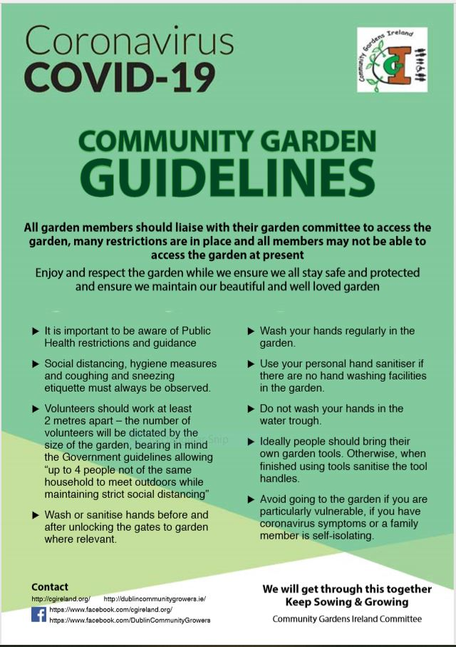 COVID-19 Guidelines for Community Gardens