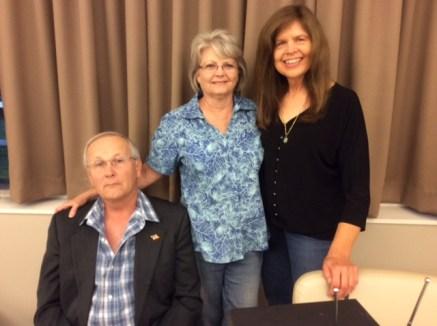 David, Lanora and Marcia