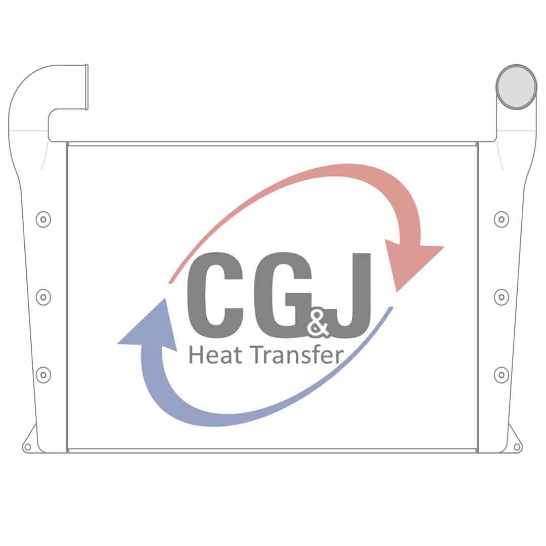 Bt Aluminum Komatsu Charge Air Cooler C G Amp J Inc
