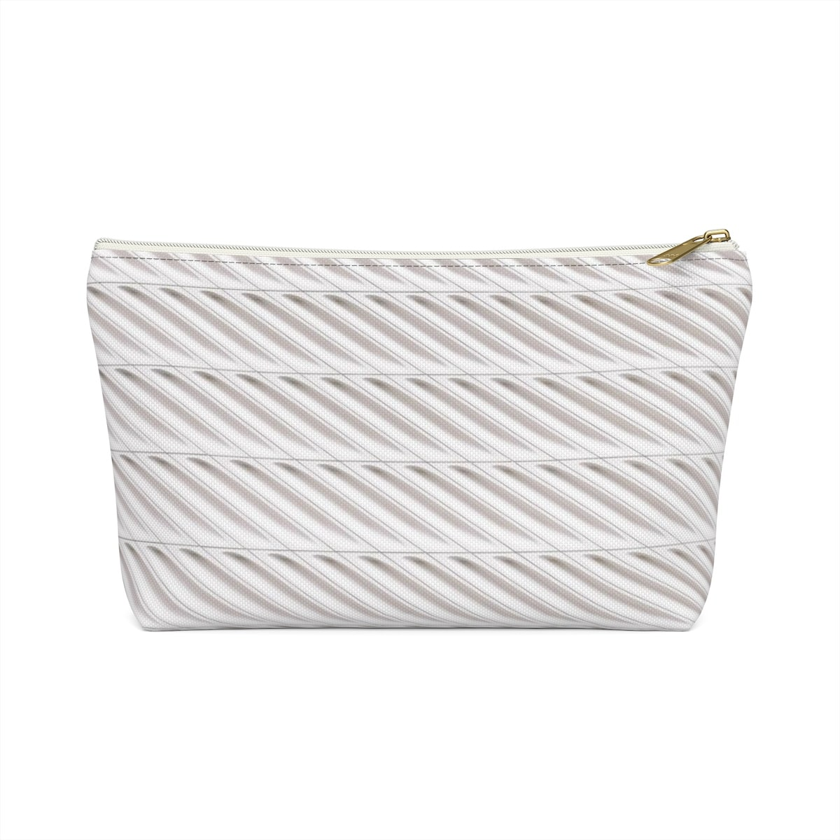 The Broad Museum Accessory Pouch w T-bottom - The Broad Museum Accessory Pouch w T-bottom - .: 100% Polyester .: Multiple sizes .: T-bottom 2,5 inches long .: With non-laminated lining