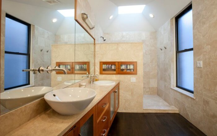 walk in shower that can put your bathroom over the top