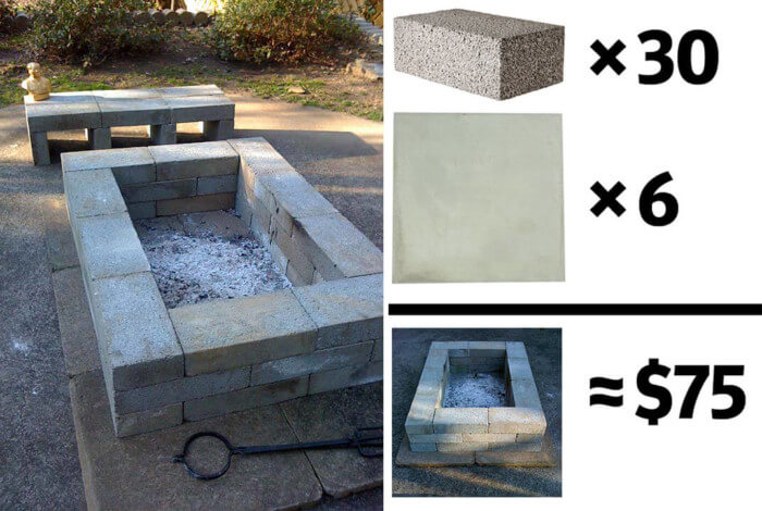 Incredible fire pit ideas images with cozy seating area