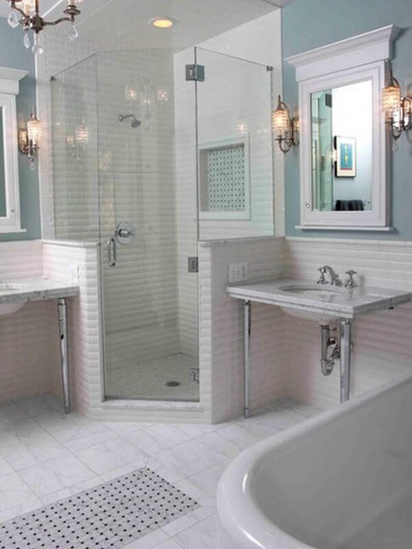 Inspiring walk in shower and tub ideas that can put your bathroom over the top