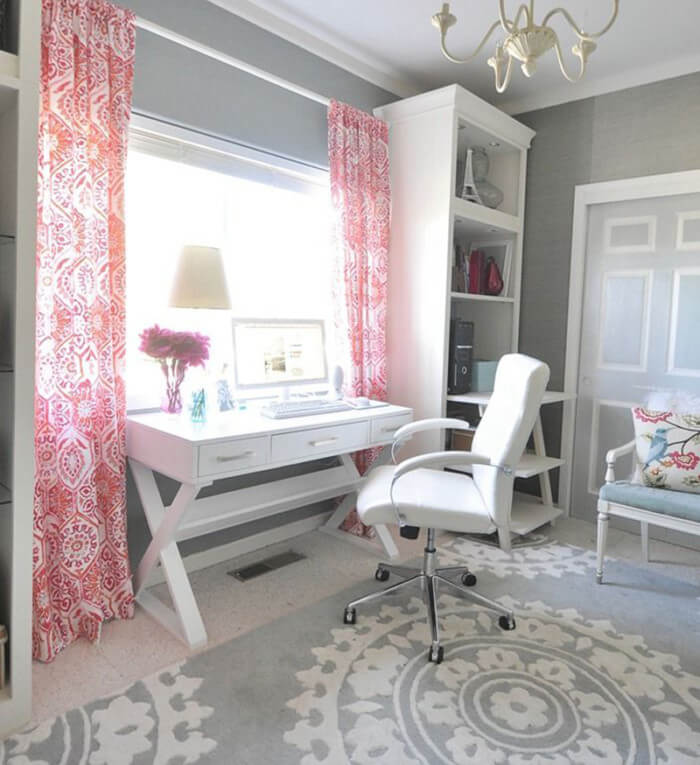 Fun and cool little girls bedroom that will add personality to your bedroom and look professionally designed.