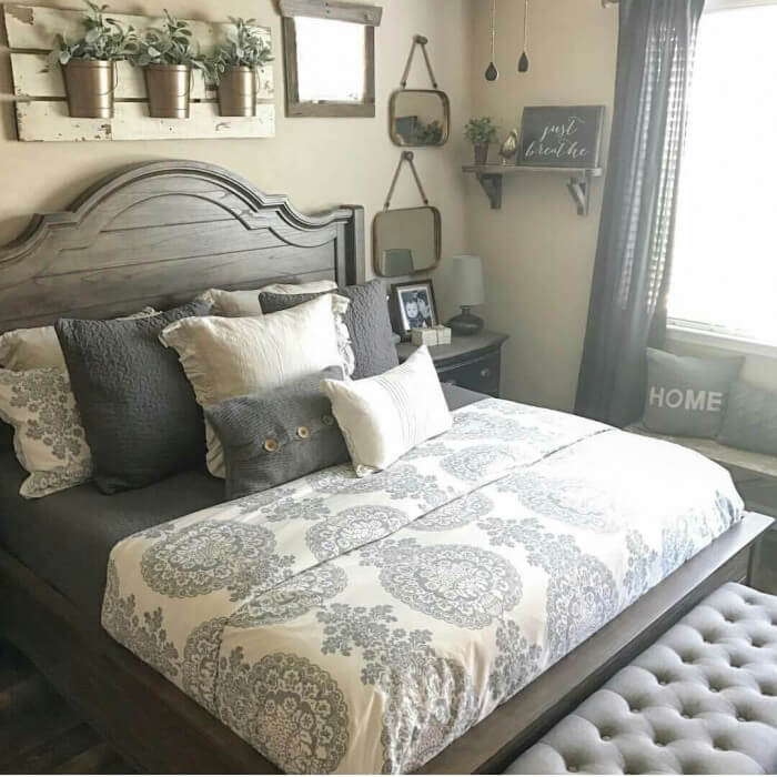These gorgeous interiors prove farmhouse bedroom curtains anyone can replicate for a rustic country home you will love