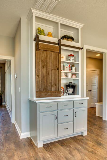 Places to which you can build a coffee station cabinet Anyone Can Replicate