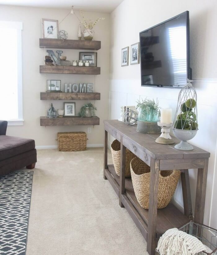 {Remodel Decor Inspiration} Cheap and Easy farmhouse decor ideas that liven up your home for better a good daily mood and simple to do. We Show You How to Get It!