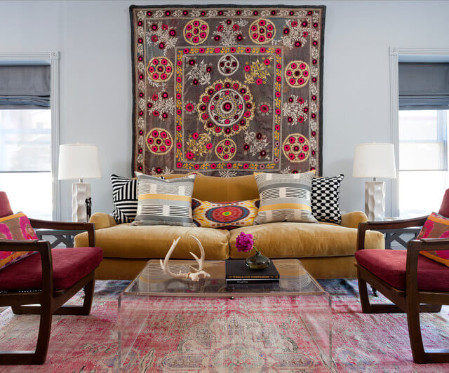 Here 20 Amazing pictures of contemporary bohemian interior design to liven up your room for better a good daily mood.